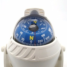 Naturehike Mulitifunktionell Magnetic Sphere Marine Militär Elektronisk Fordonsborrad Typkompass För Marine Båtbil
