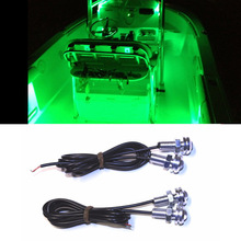 LED Under Body Accent Step Lights Boat Light Waterproof 12v Deck Stora