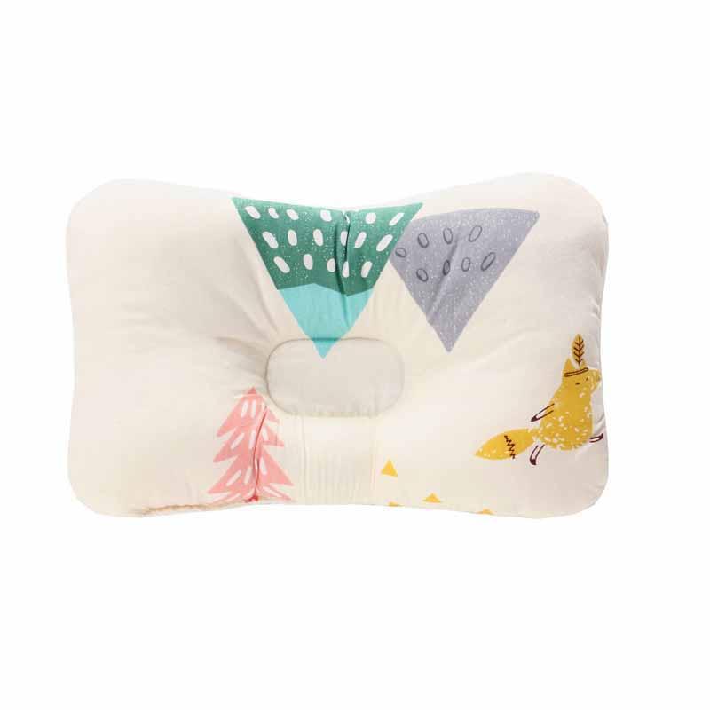Подушка для младенца, подушка для защиты головы, детское постельное белье, Младенческая подушка для кормления малыша, позиционер для сна против скатывания - Цвет: Зеленый