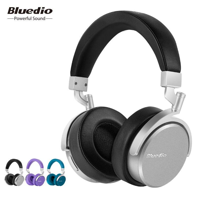 Bluedio Transporté D'urgence Casque Vinyle Prime Casque Sans Fil Double 180 Degrés Rotation Écouteur 3D Bass Music Casque