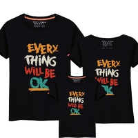 95 Cotton 5 Silk Family Matching Outfits Summer Family Clothing T Shirt Family Look 2017 Boy