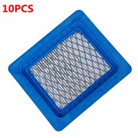 10PCS Air Filters For Briggs Stratton 4101 491588 5043 399959 050007 119 1909 Free Shipping