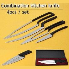 Multifunktions Küchenmesser 4 teile/satz Camping Edelstahl Messer Sets Chef Messer Peeler/Boning/Cleaver/Utility Messer Werkzeug