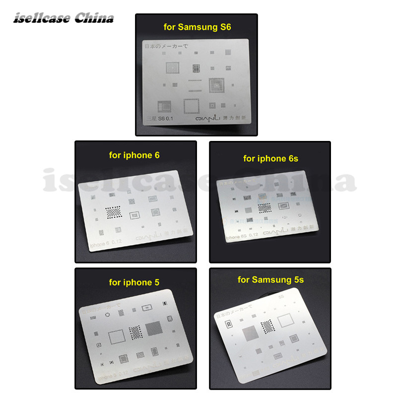 Wozniak Nissan BGA Templates Sik tin Fixture Tin solder ball Soldering Tools BGA Reballing Station Jig for iphone 5 5s 6 6s S6 bga reballing station jig 184pcs 80x80mm templates kit for laptop desktop xbox