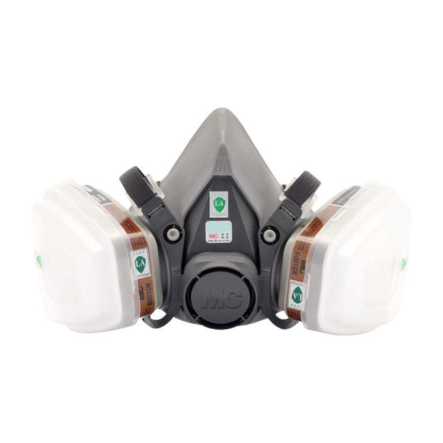 Face 5n11 6200 Mask Half With Respirator 6001cn Gas Shield