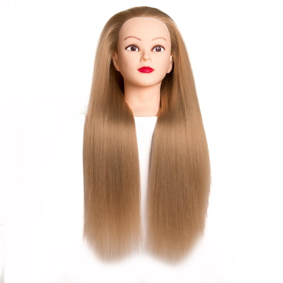 frisør dukker hode kvinnelig mannequin frisør styling treningshode - Hårpleie og styling - Bilde 2