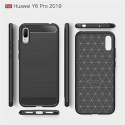 Для Huawei Y6 Pro 2019 чехол 6,09 дюймов роскошный полный Мягкий ТПУ силиконовый чехол для Huawei Y6 Pro 2019 Y6pro тонкий телефон сумка чехол