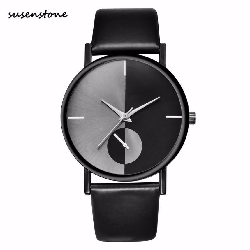Susenstone Simple Casual Women Watches Fashion Luxury Women Ladies Digital Dial Quartz Wrist Watch Watch Relogio Feminino 30