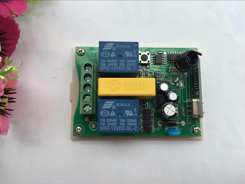 Image 3 - CENTURY AOKE AC 220V мотор двери гаража и проекционный экран и жалюзи RF беспроводной пульт дистанционного управления переключатель цифровой дисплей экранrf doorscreen switch220v wireless control switch  АлиЭкспресс