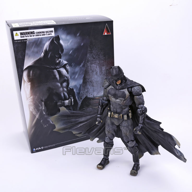 ФОТО SQUARE ENIX Play Arts KAI Batman v Superman Dawn of Justice NO.1 Batman PVC Action Figure Collectible Model Toy 25cm