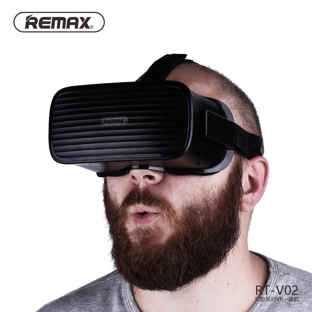 REMAX HD Wifi オールインワン VR メガネ Hdmi ヘッドセット 3D 仮想現実没入ゴーグル段ボール VR ヘルメット RT-V02