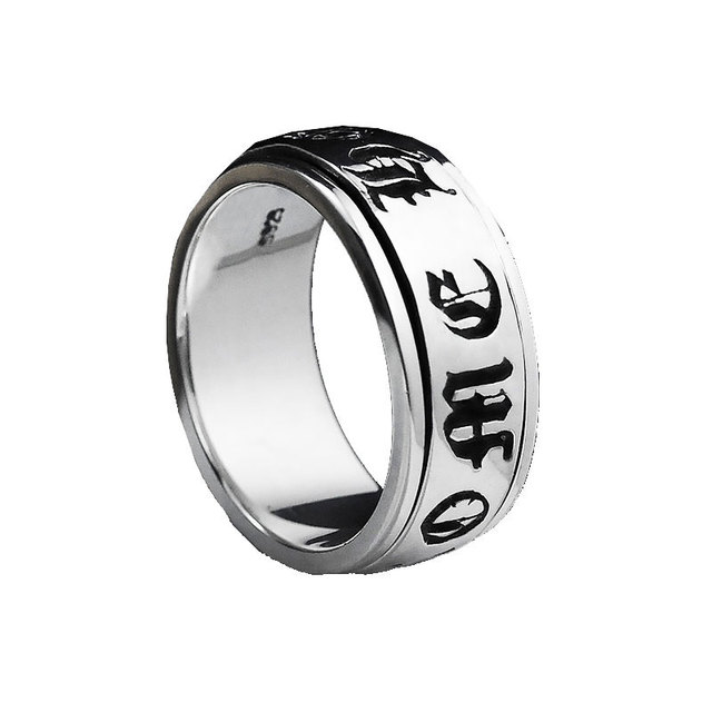 925 Sterling Silver Ring For Women Men Jewelry Fashion Real 100