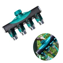 ANSI/IEC Garden Hose Pipe Splitter Plastic Drip 3/4'' 4 Way Tap Splitter Brass Screw Thread 4 Way Hose Quick Connector 3 4 hose husky 3 4 hose page 7