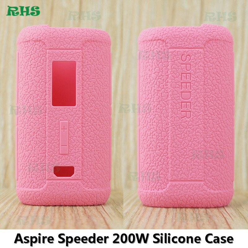 2 pcs/lot Housse En Silicone En forme pour Aspire Speeder 200 W Kit livraison rapide gratuite par La poste Chinoise Aspire Speeder 200 W Silicone cas