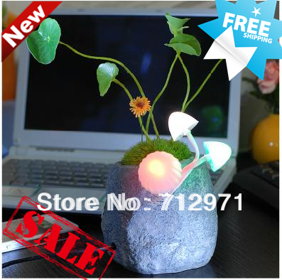 LED home desktop stone night lamp/Avata mood sleep lamp/Home mood design lamp/Different pot light home home k4059