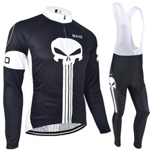 Bxio Winter Thermal Fleece Cycling Jersey Warm Long Sleeve Bicycle Clothing Pro Mountain Autumn Bike Jersey Ropa Ciclismo 024