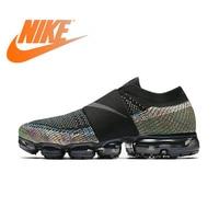 Original Authentic Nike Women Shoes Air Vapor Max FlyLine Rainbow Cushion Cushion Comfortable Running Shoes Sport Outdoor AA4155