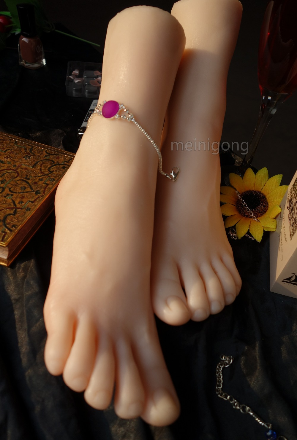 Silicone Lifesize Female Mannequin Foot Shoes Display Model Prop ,Lifesize Foot Display Shoes ModelSilicone Lifesize Female Mannequin Foot Shoes Display Model Prop ,Lifesize Foot Display Shoes Model