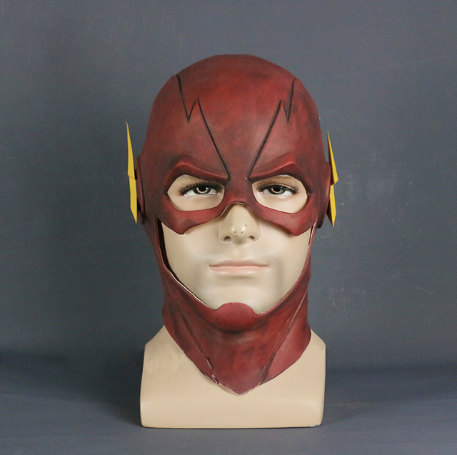 Aliexpress.com : Buy The Flash Mask Movie Cosplay Costume Prop ...