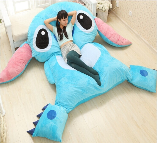 Pikachu Bed Furniture Floor Chair Oversized Stitch