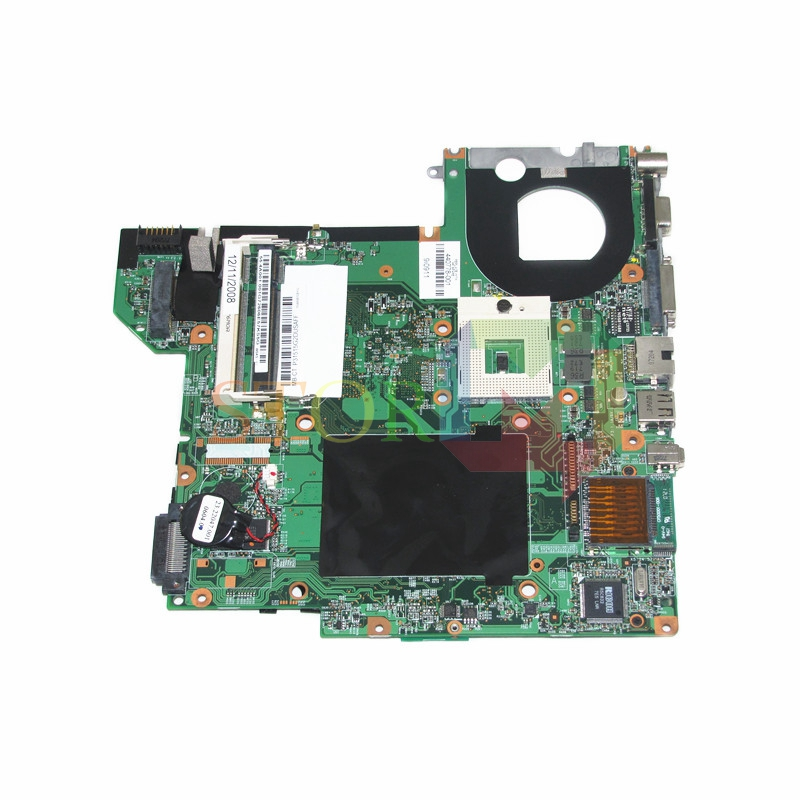 NOKOTION for hp pavilion DV2000 V3000 laptop motherboard 440778-001 48.4F501.051 GM945 DDR2 laptop motherboard for hp dv2000 460716 001 48 4y001 03m pm965 nvidia g86 630 a2 ddr2