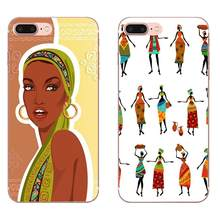 Africa Women Figures For LG Nexus 5 5X V10 V20 V30 V40 2017 2018 2019 Soft Silicone TPU Transparent Fashion Phone Case(China)