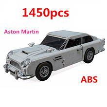 Technic Series The Legoinglys 10262 Aston Martin DB5 Set Building Blocks Bricks Children Car Model Gifts Toys For Children