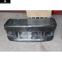 F30 3 series 320i 325i CSL style Carbon Fiber Rear trunk lid Hood Bonnets for BMW F30 330i car body kit 13 18