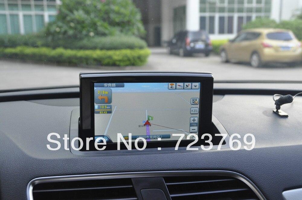 Pour système de Navigation DVD Audi Q3 (2013) avec connecteur bluetooth/écran tactile/ipod