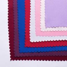 6 шт./лот 48 см X 48 см квадратный хлопок сплошной цвет салфетка для свадебной вечеринки банкета отеля стол столовая украшения