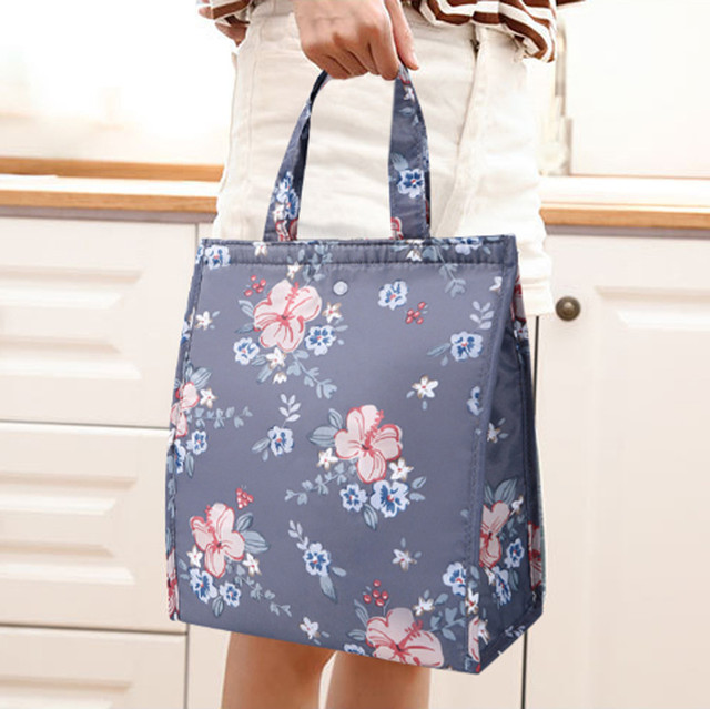 Lunch Bag 2019 New Waterproof Special Thermal Insulation Storage Tote Portable Insulated Pouch Cooler Oxford Cloth Food Bag #L5 1