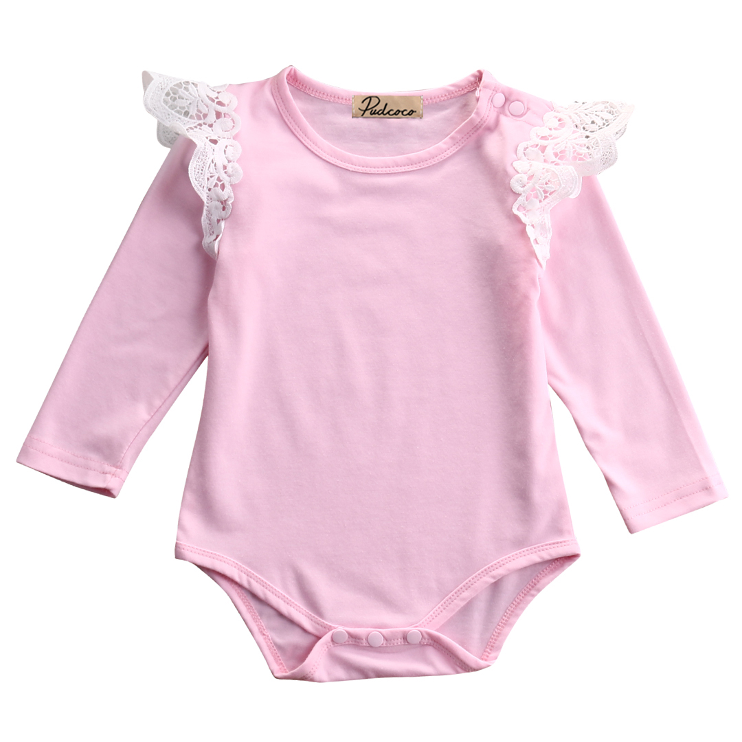 Hi Hi Baby Store Newborn Infant Toddler Baby Girl Kids Romper Jumpsuit Body Clothes Cotton Outfits