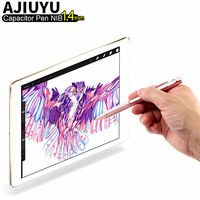 פעיל עט חרט מגע קיבולי עט עבור iPad 4 3 2 1 iPad4 iPad3 iPad2 לוח 9.7 קבלים מקרה NIB1.4 דיוק גבוה