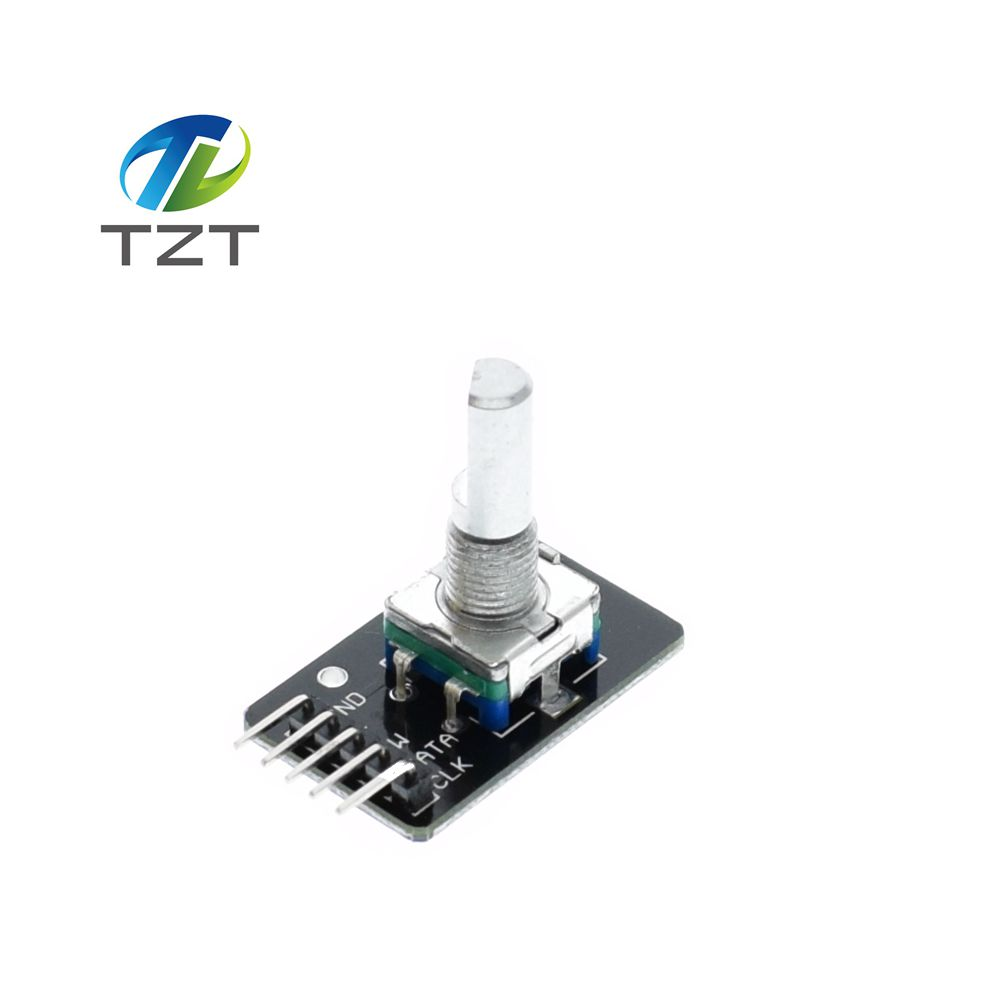 US $0 65 |1pcs Rotary Encoder Module Brick Sensor Development for Arduino  KY 040 Encoder Module-in Integrated Circuits from Electronic Components &