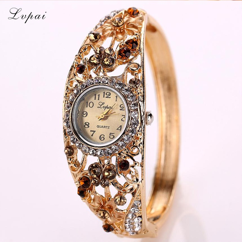 Lvpai Women Watches Alloy Crys...