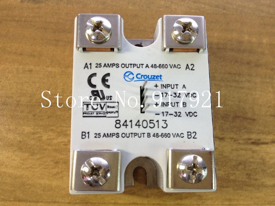 все цены на [ZOB] The French Crouzet 25A 17-32V 48-660VAC 84140513 solid state relay gaonuosi SSR онлайн