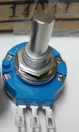 100% Оригинальный Φ B502 B103 25 мм полувал Сверхдолгий срок службы 2 Вт вращающийся потенциометр для гоночных игр TOCOS x 10 шт.