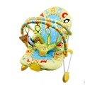 Elec bebé mecedora vibración música multifuncional bebé Gorilas, eléctrica mecedora, columpio