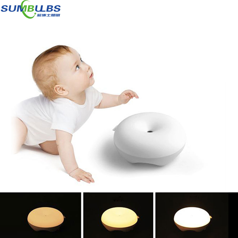 New Design Wireless Sensor Gesture Control LED Desk Lamp Eye Protecting Household Night Reading Lights Dimmable 3 Color Modes remote control led light creative monje smart air purifier wireless night lights sensor lamps gift table desk lamp