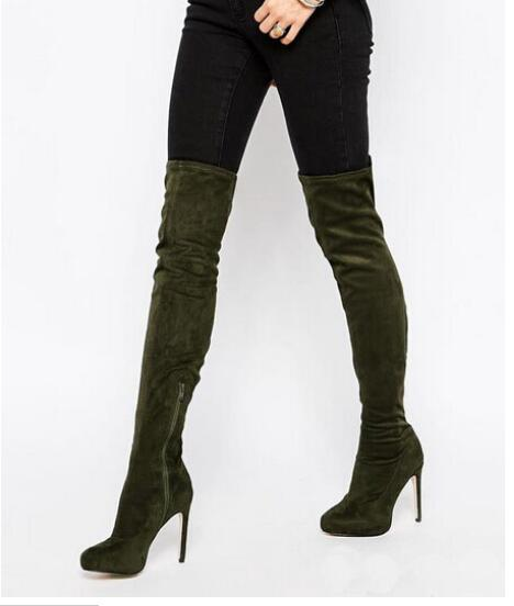 Popular Thigh High Boots Size 13-Buy Cheap Thigh High Boots Size ...