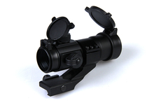 New Arrival And Hot Sale Tactical M3 1X35 Red Dot Sight With Red / green / blue Illumination For Hunting BWD-037
