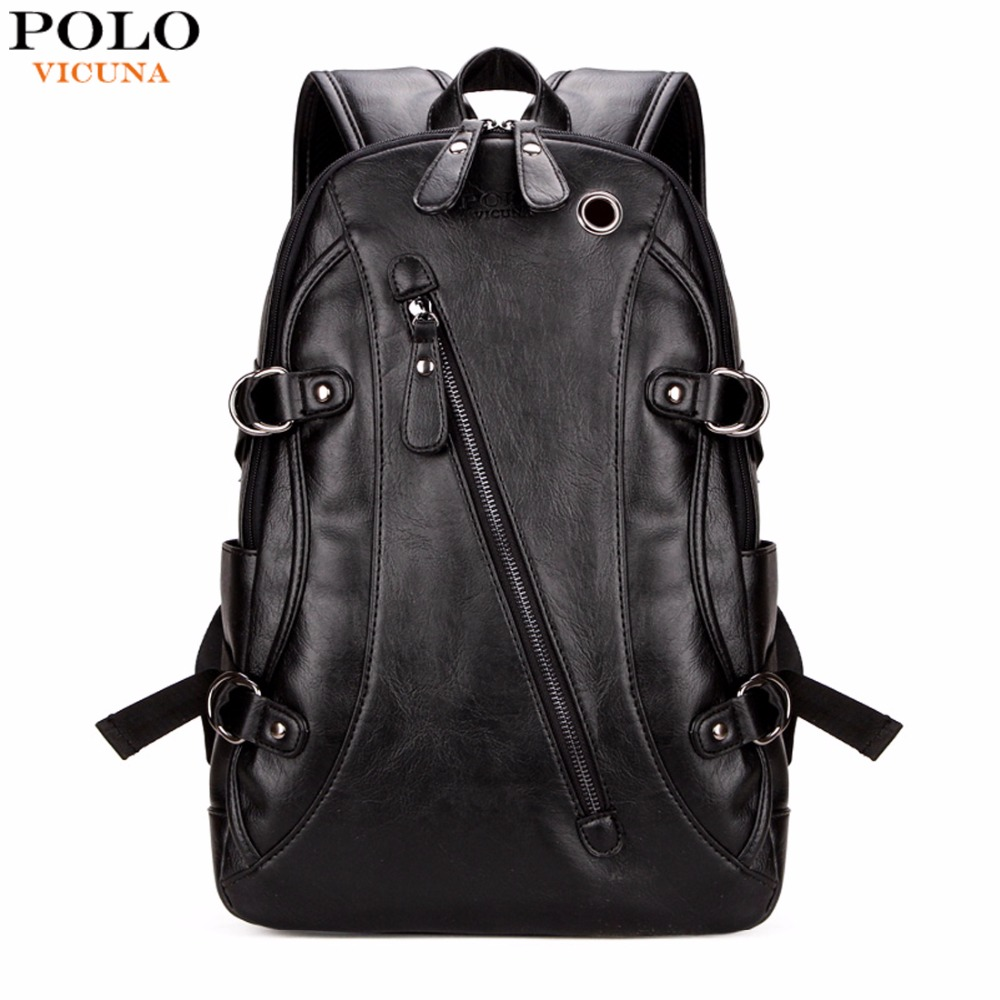 VICUNA POLO High Quality Practical PU Leather Mens ...