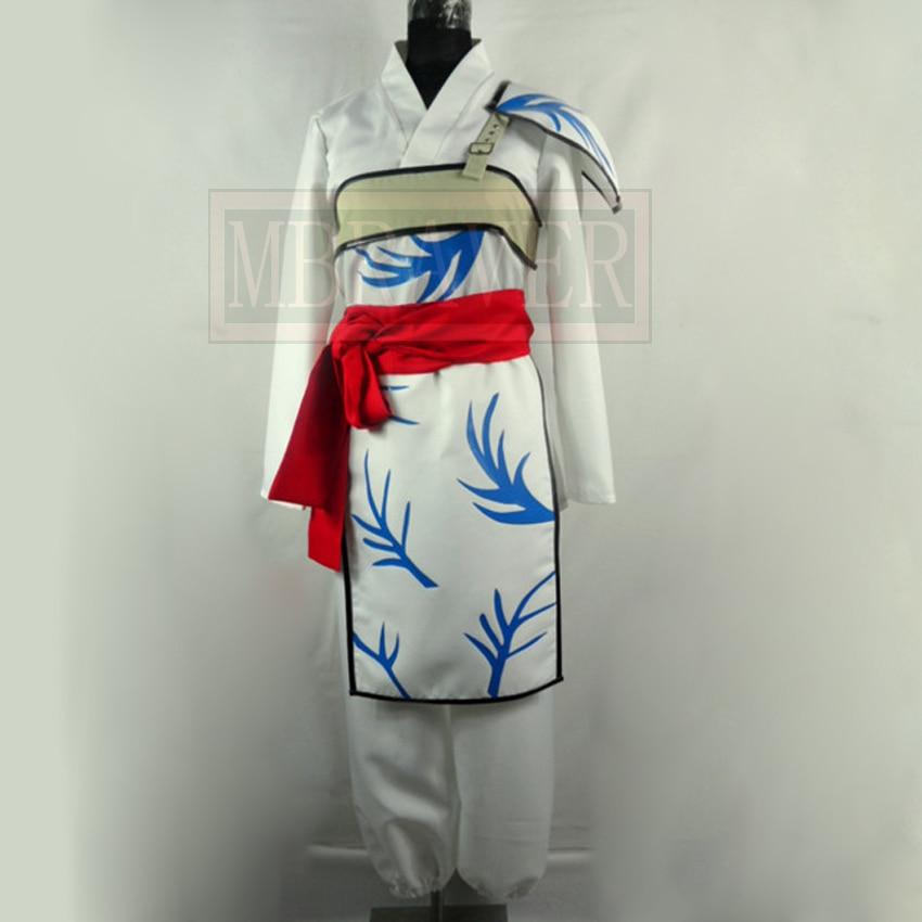 InuYasha Bankotsu Cosplay Costume Custom Made Any Size