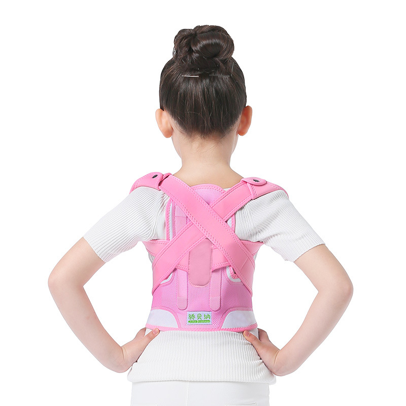 Child Opposite Direction Posture Back Straps Humpbacks Braces Belt Slouch Correction Orthosis Shoulder Support Posture Corrector