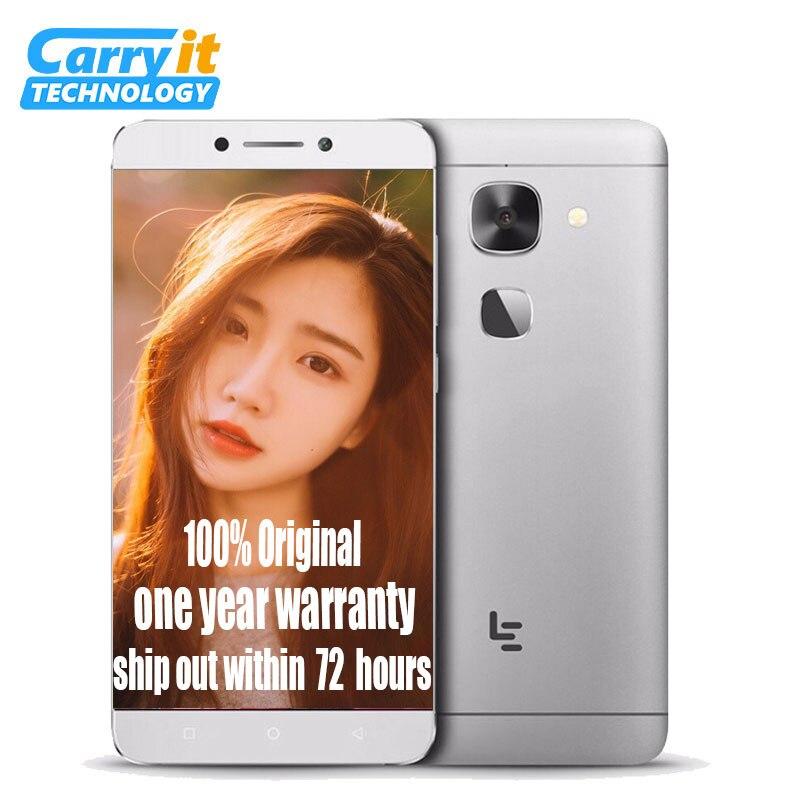 "bilder für Ursprüngliche Letv LeEco Le 2X527 Globale Version Snapdragon 652 Octa Core-Handy 5,5 ""FHD 3 GB 32 GB 16MP Fingerabdruck"