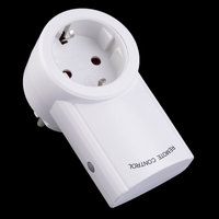 Top Quality EU Plug 3 Pack Wireless Remote Control Power Outlets Light Switch Plug Socket Smart Home Remote Switcher