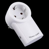 High Quality EU Plug 3 Pack Wireless Remote Control Power Outlets Light Switch Plug Socket Smart