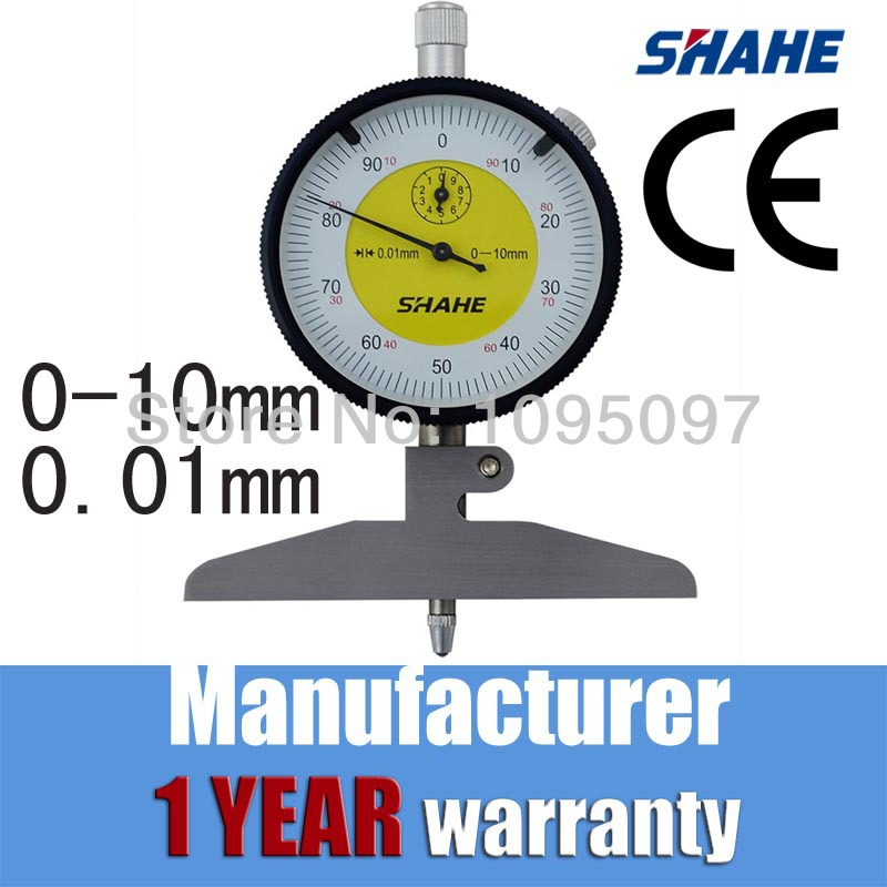 shahe dial indicator measuring gauge depth indicator dial indicator gauge 5318 100