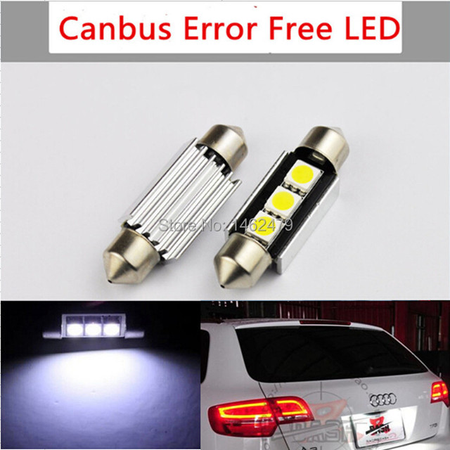 For AUDI A3 A4 A6 S3 Q7 TT RS4 NUMBER PLATE LIGHT White LED Bulb 39mm  sc 1 st  AliExpress.com & For AUDI A3 A4 A6 S3 Q7 TT RS4 NUMBER PLATE LIGHT White LED Bulb ...