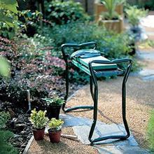 Складной садовый табурет прочный и легкий сад складной табурет с табуретом+ боковой карман